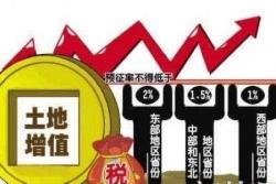潍坊土地增值税